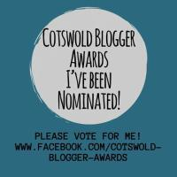 Cotswold Blogger Awards: I'm a finalist!