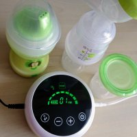 (AD) MAM 2 in 1 single breast pump (electric and manual)