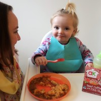 (AD) Annabel Karmel chilled toddler meals taste test